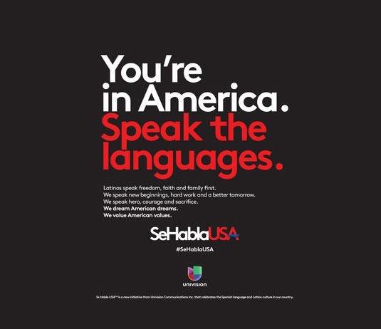Univision lanza Campaña, «Se Habla USA», para celebrar la cultura Latina y el español en Estados Unidos