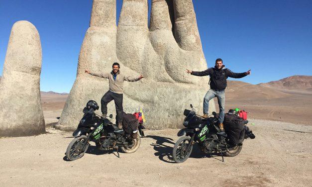 Moteando Suramérica: dos hermanos venezolanos que viajaron de Caracas a la Patagonia en moto