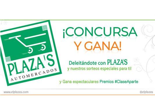 Automercados Plaza's realiza concursos en sus Redes Sociales